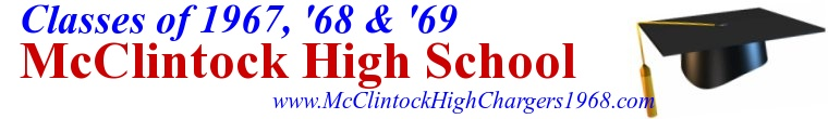 McClintock High School  Class of 1968